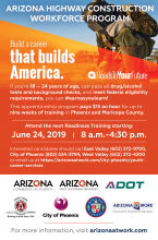 Arizona Highway Construction Workforce Program June 24th