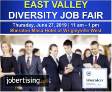 East Valley Diversity Job Fair June 27th