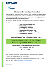 MEDNAX Hiring Event August 7th and 8th