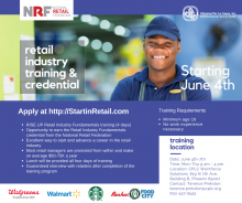 Retail Training program June 4th - 7th