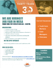 Southwest Key Hiring Event June 21st