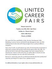 United Career Fair June 25th