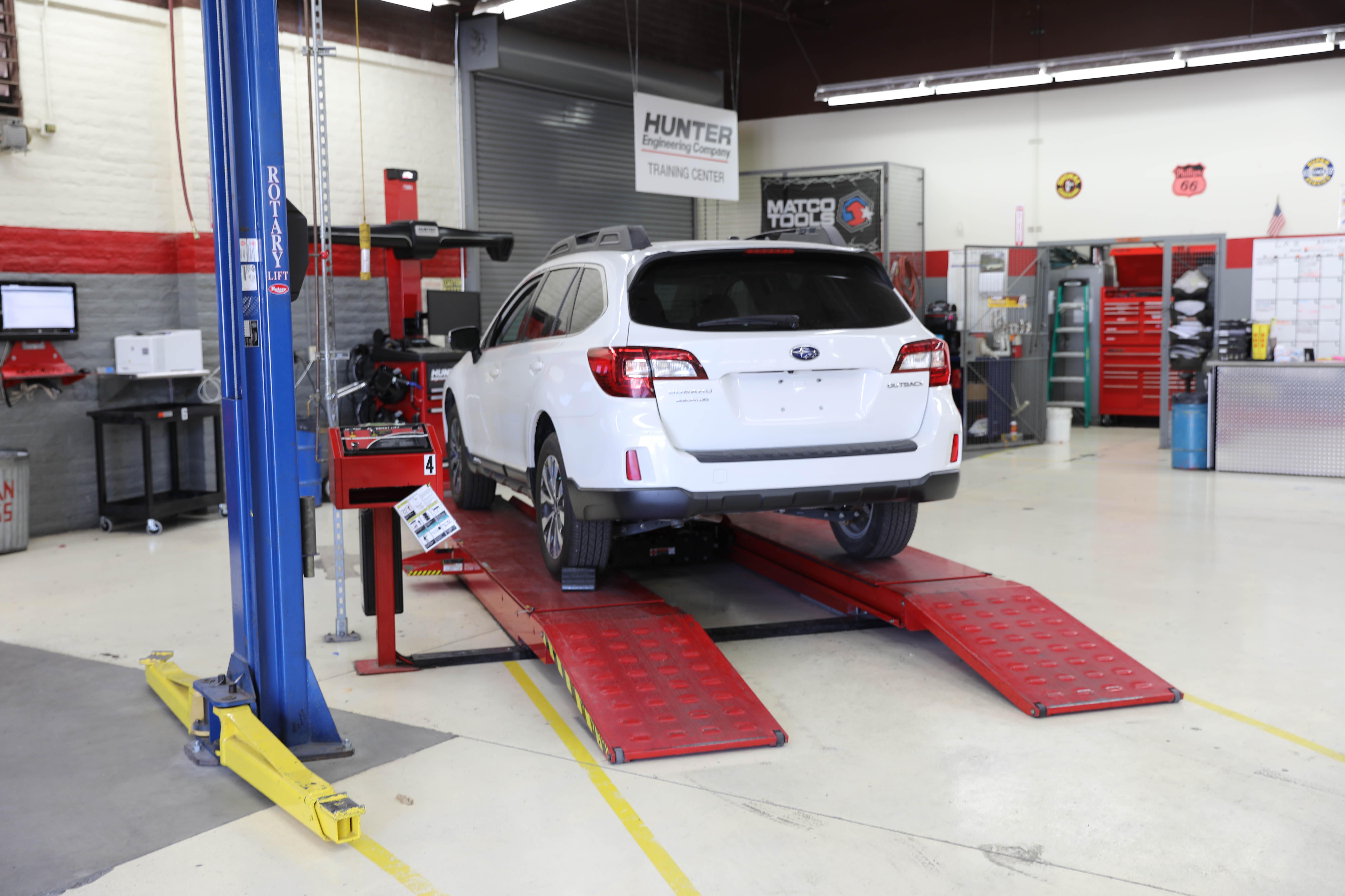 Subaru u automotive performance mesa community college for Red mountain motors mesa az