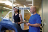 Metabolic test shows caloric burn with excercise