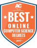 AffordableCollegesOnline Best Online Computer Science Degrees 2017 badge